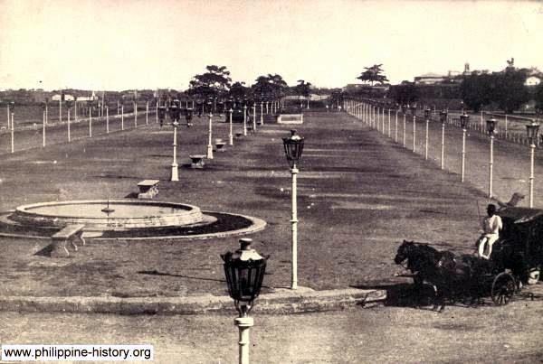 Historische Bilder aus Manila