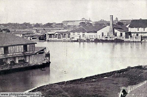Pasig river in 1899