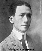Sergio Osmena, President during the commonwealth period