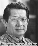 """Former Senator Benigno """"Ninoy"""" Aquino, Jr."""
