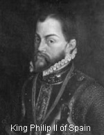 King Philip 2, Spain